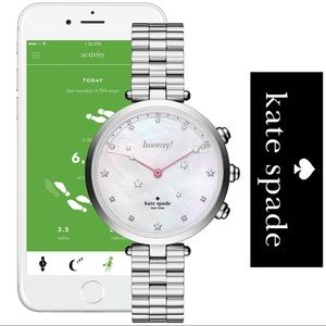 NWT♠️ Kate Spade Holland Stainless steel Smart